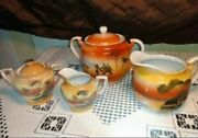 Creamer Sugar Teapot Pitcher Made In Japan Small