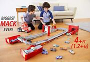 Disney Cars Transforming Super Track Mack Playset With Motorized Launcher