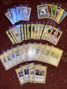 Pokemon. Nm. 1st Edition Shadowless Base X39 Cards Inc. 3 Holo And 6 Grey Stamp