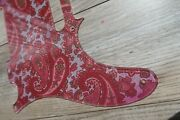 60s 70and039s Usa Fender Pink Paisley Telecaster Pickguard 8 Hole Tele Allparts