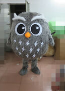 Christmas Cartoon Dolls Owl Mascot Costume Cosplay Party Outfits Clothing Adults