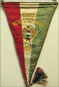 Football Match Pennant 1970 Hungary Official
