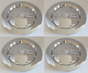 20 Chrome Wheel Center Hub Cap Rim Fit Gmc 07-14 Sierra 1500 Yukon Denali Xl 4x
