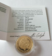 230 Rocznica Konstytucji 3 Maja Gold Coin From Poland Only 1200 Issued Pieces