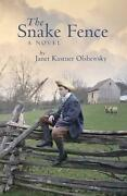 The Snake Fence A Novel By Janet Kastner English Paperback Book Free Shipping