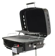 Rv Mounted Bbq Motorhome Grill Gas Trailer Side Mount Barbeque Station Camping