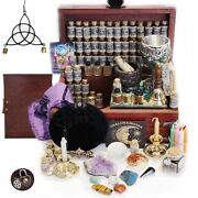Witchcraft Kit Herbalist Kit Witchcraft Herbs Witch Crystals 116 Supplies Wicca