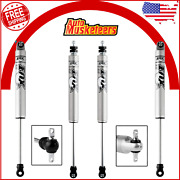 2 Front And 2 Rear Fox Performance Shocks For 1984-2001 Jeep Cherokee 3-4.5 Lift