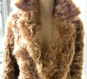 Vintage Couture 1930s-40s Original High Society Glamour Fur Coat