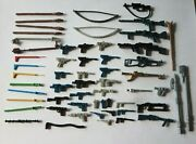 Star Wars Weapons For Vintage Figures Replacements