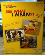 Playmonster Relative Insanity- See What I Mean - Party Game New In Box
