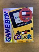 Gameboy Color New Factory Sealed