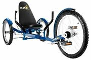Mobo Triton Pro Adult Tricycle For Men And Women. Beach Cruiser Trike. Pedal 3-whe