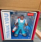 Fisher Price Thank You Heroes Male Nurse First Responders Gyj32 Mattel Sealed