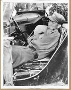 1951 Communist Soldier Pouting In Jeep Kaesong Korea Original News Photo