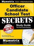 Officer Candidate School Test Secrets Study Guide Ocs Test Review For The Asvab