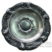 Antique 1901 Ussr Sterling Silver 84 Plate Fruit Bowl Imperial Russia 306.6 Gr