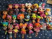 Lalaloopsy Dolls Lot Of 19 Plus 5 Bags Of Accessories