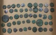 Lot Of 50 Ancient Roman, And Other Coins All Shown 2a