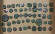 Lot Of 50 Ancient Roman And Other Coins All Shown 2a