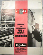 Upjohn Cpr Urethane Pipe Insulation Catalog Asbestos Foil Laminate Jacketing And03974