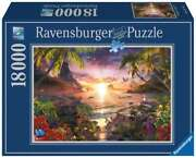 New In Box Ravensburger - Heavenly Sunset Puzzle 18000 Piece Jigsaw Puzzle
