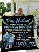 Husband Blanket To My Husband When We Get To The End Husband Couple Blanket
