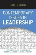 Contemporary Issues In Leadership By William E Rosenbach Used