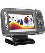 Lowrance Hook2 4x Fish Finder With Bullet Skimmer Transducer 000-14012-001 New