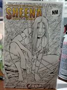 Sheena Queen Of The Jungle 3 2007 2 Variant Set Nm- Todd Mcfarlane Homage