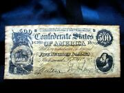 Confederate Currency Set B Historical Doc.+ 1987 Mint Bu Uncirculated Coin 6 -