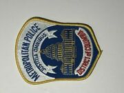 District Of Columbia Metropolitan Police Collectable Patch