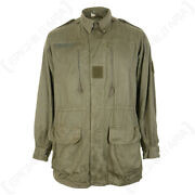 Original French M64 Jacket - Olive Reenactment Military Surplus Army