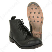 British Ww2 Leather Ammo Boots By William Lennon Reenactment Army Military