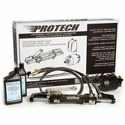 Uflex Protech 1.0 Front Mounting Hydraulic Steering System With 20ft Hose Kit