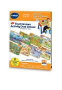 Vtech Touch And Learn Activity Desk Deluxe Expansion Pack, Animals Bugs Critters