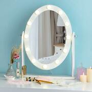 Hollywood Lighted Vanity Vintage Makeup Mirror W/ 12 Led Lights Touch