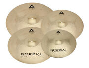 Istanbul Xist Power 4 Cymbal Set With Free Case New
