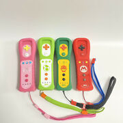 Lot Of 4 Nintendo Wii Remote Controller Peach Mario Yoshi Bowser Japan Tested