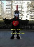 New Chicken Mascot Costume Suit Cosplay Party Game Dress Outfit Halloween Adults