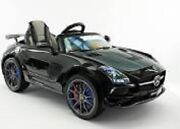 2021 12v Battery Powered Mercedes Sls Amg With Led Wheels Lcd Screen Mp4 Ride On