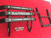 Yamaha Banshee Atv Amazing Sick Combo Front And Rear Bumpers Made In Anaheim Usa
