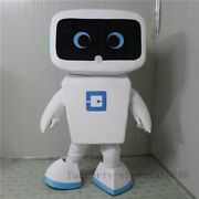 Hot Sale Advertising Promotion Android Robot Mascot Costume Dress Adults Size Us