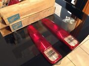 Jeep J10 / J20 Rear Tail Light Lenses Left And Right Nos Fantastic