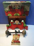 1932 Milton Bradley Humpty Dumpty Pool Skill Ball Toy Game And Wood Teeter Totter