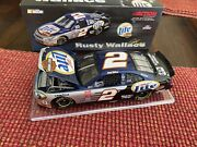 Rusty Wallace 2001 Action Miller Harley Davidson 1/24 Diecast Bank Free Shipping