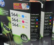 Hp 564xl Ink Cartridge Color Ink Jet Combo Pack