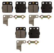 Emgo Front Brake Caliper Pads 3qty For Suzuki 02-13 Ltf250 Ozark 250 Replacefa84