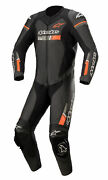 Alpinestars Gp Force Chaser Mens 1-pc Leather Motorcycle Suit Black/red