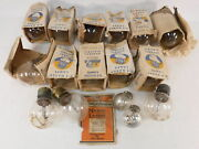 Lot Of 14 Rare Edison Westinghouse Mazda Airplane 420 Watts And 2 041 Lamps Bulbs